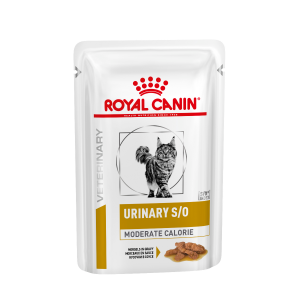 I250411-Royal Canin Vet Diet Urinary S/o Moderate Calorie Cat Food 85g