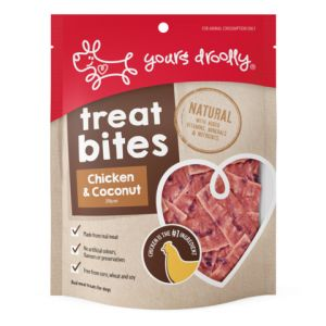 I241377-Yours Droolly Chicken And Coconut Treat Bar 250g