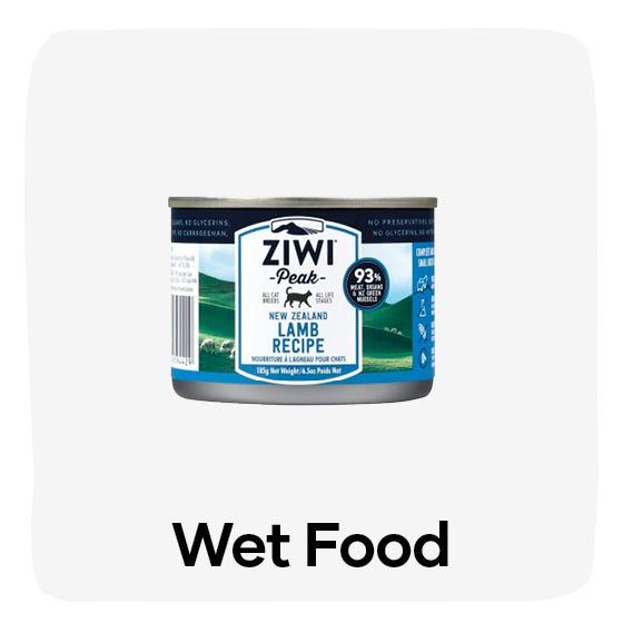 Wet food cat