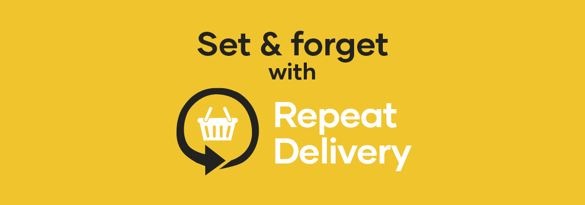 Set & Forget with Repeat Delivery